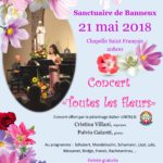 Concert «Toutes les fleurs» ce 21 mai à 20h